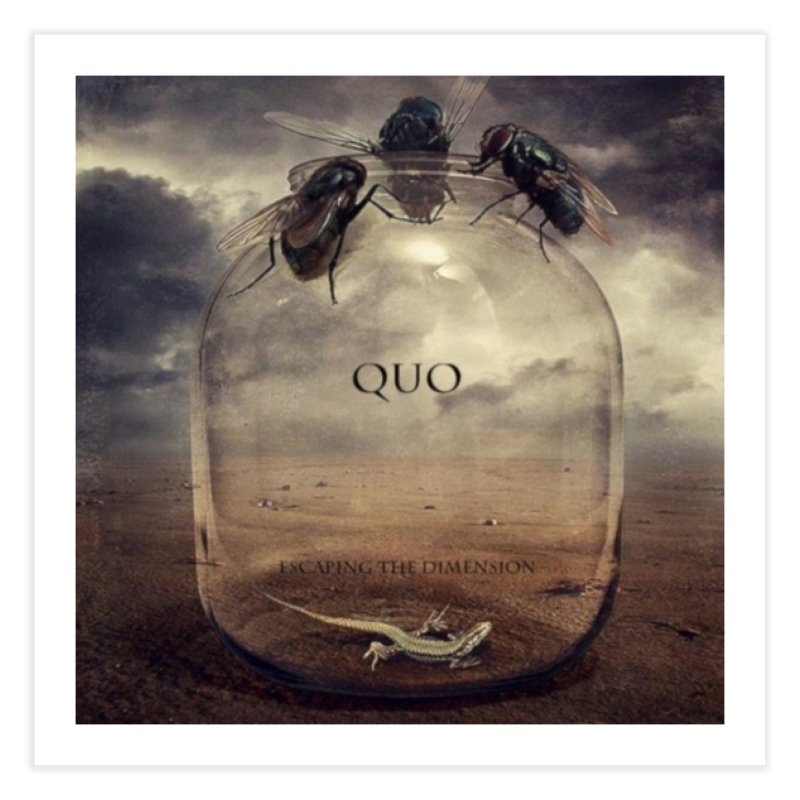 Quo Escaping the Dimension Home Fine Art Print by automatonofficial's Artist Shop