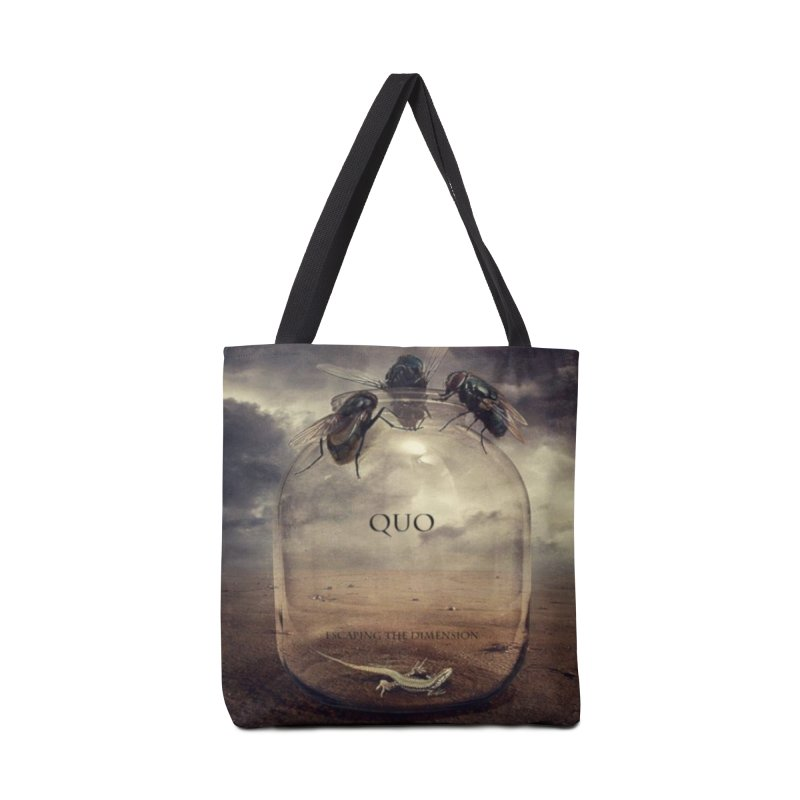 Quo Escaping the Dimension Accessories Tote Bag Bag by automatonofficial's Artist Shop