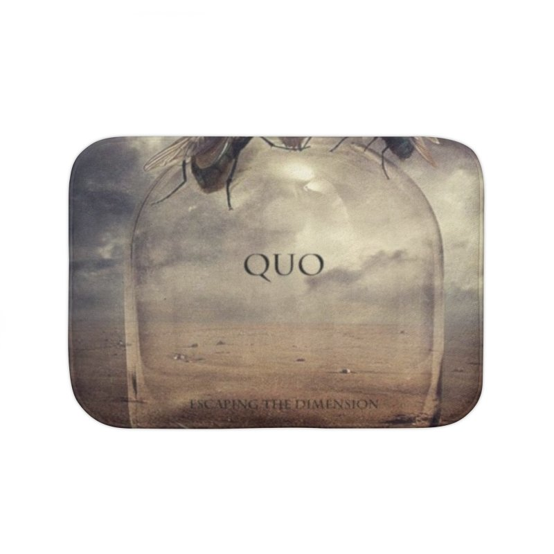 Quo Escaping the Dimension Home Bath Mat by automatonofficial's Artist Shop
