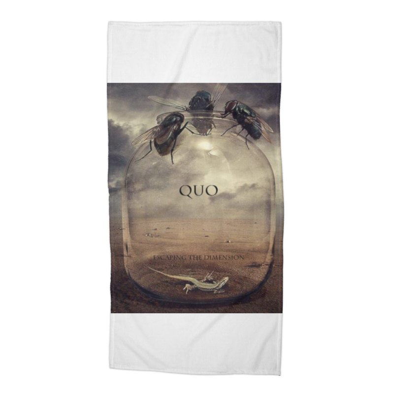 Quo Escaping the Dimension Accessories Beach Towel by automatonofficial's Artist Shop