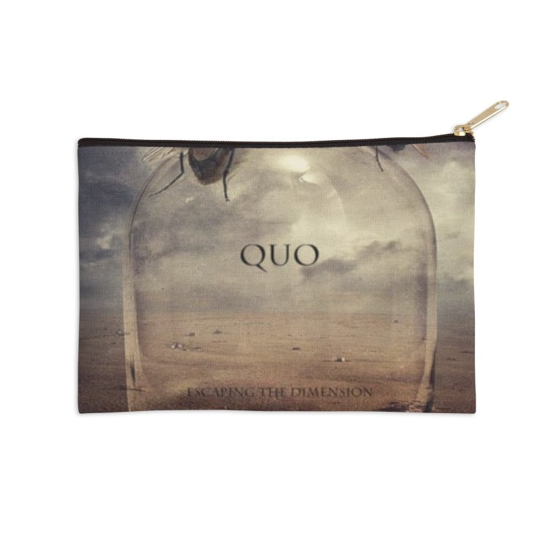 Quo Escaping the Dimension Accessories Zip Pouch by automatonofficial's Artist Shop