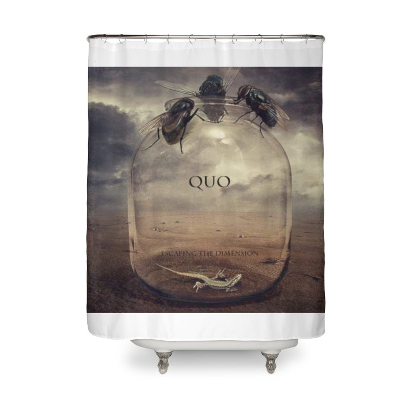 Quo Escaping the Dimension Home Shower Curtain by automatonofficial's Artist Shop