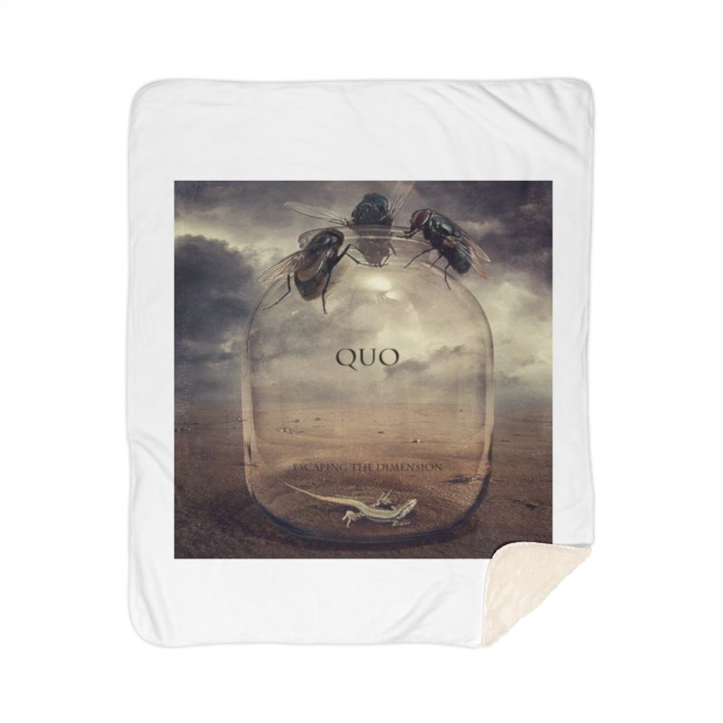 Quo Escaping the Dimension Home Sherpa Blanket Blanket by automatonofficial's Artist Shop