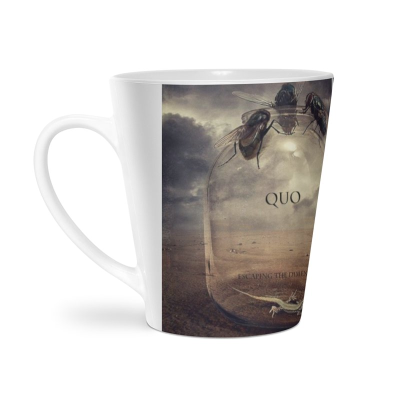 Quo Escaping the Dimension Accessories Latte Mug by automatonofficial's Artist Shop
