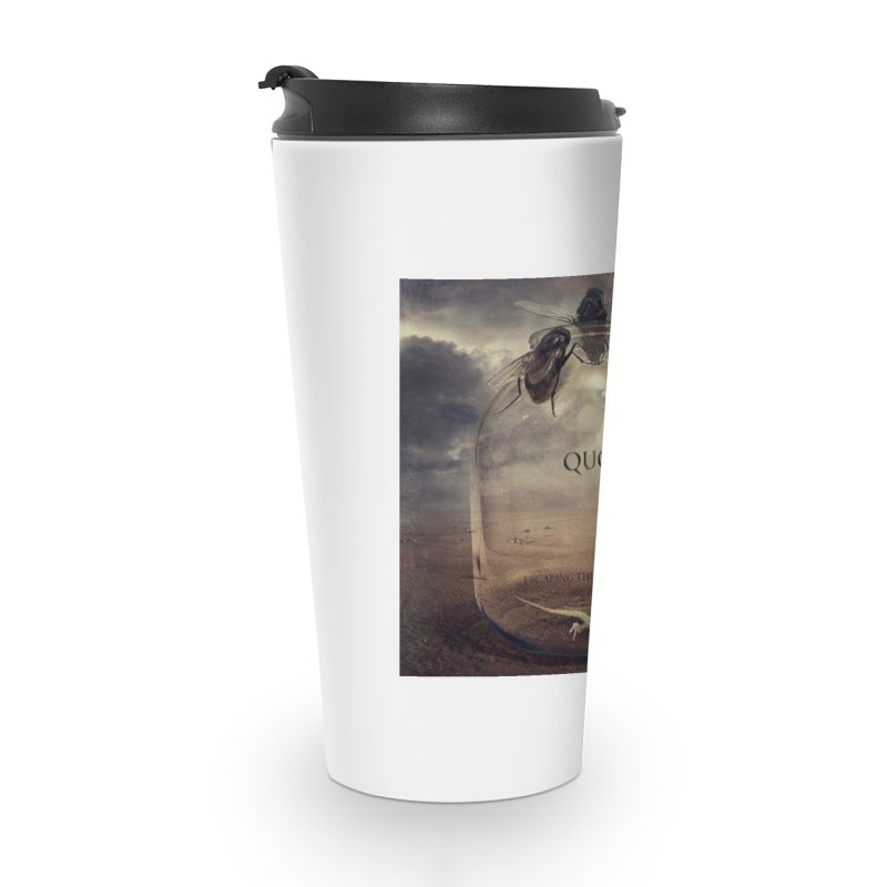 Quo Escaping the Dimension Accessories Travel Mug by automatonofficial's Artist Shop