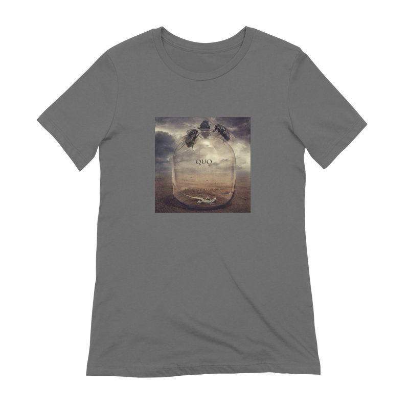 Quo Escaping the Dimension Women's T-Shirt by automatonofficial's Artist Shop