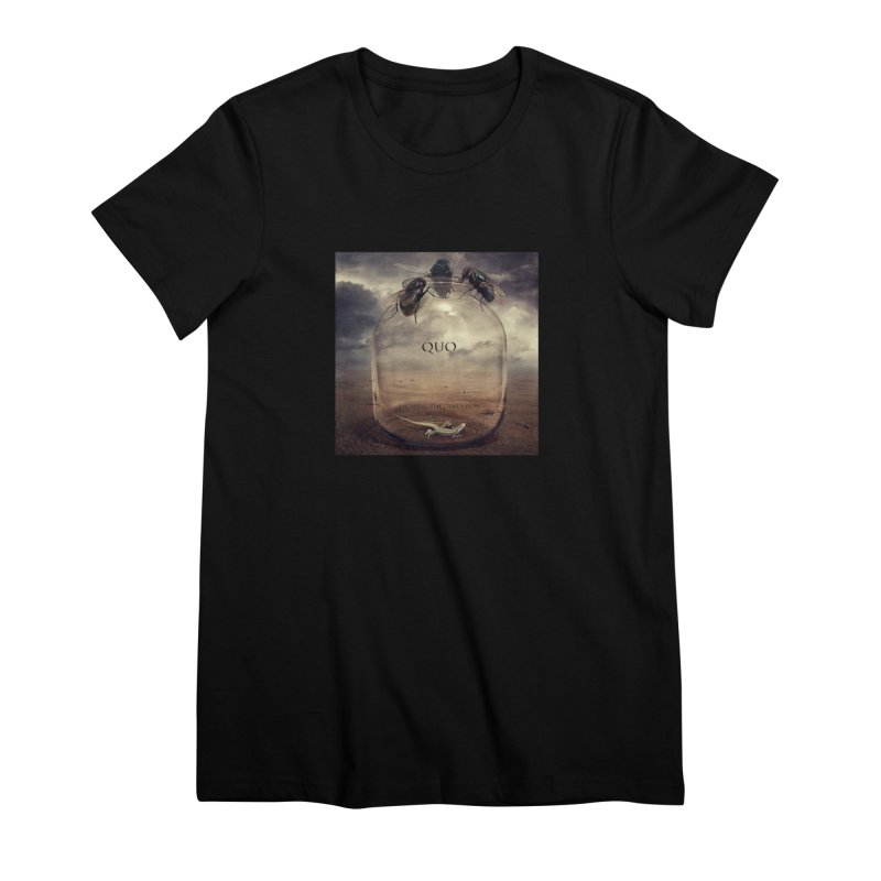 Quo Escaping the Dimension Women's Premium T-Shirt by automatonofficial's Artist Shop
