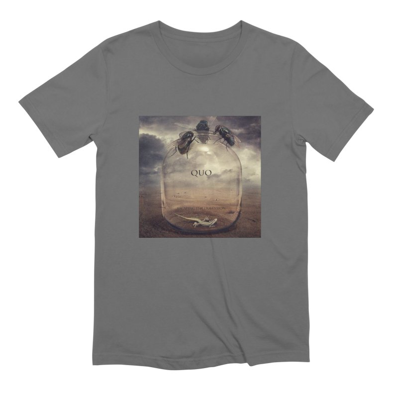 Quo Escaping the Dimension Men's Extra Soft T-Shirt by automatonofficial's Artist Shop