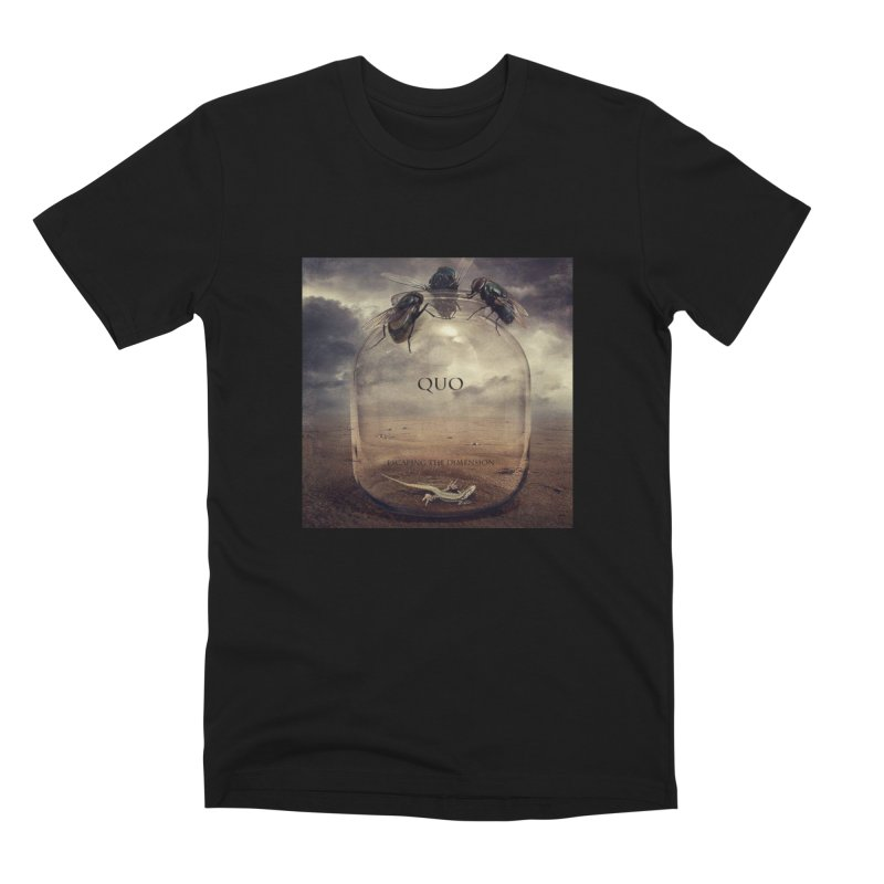 Quo Escaping the Dimension Men's Premium T-Shirt by automatonofficial's Artist Shop