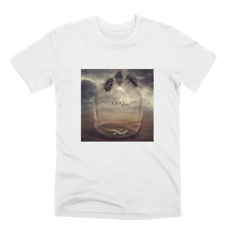 Quo Escaping the Dimension Men's Premium T-Shirt by automatonofficial's Artist Shop