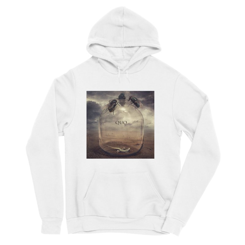 Quo Escaping the Dimension Women's Sponge Fleece Pullover Hoody by automatonofficial's Artist Shop