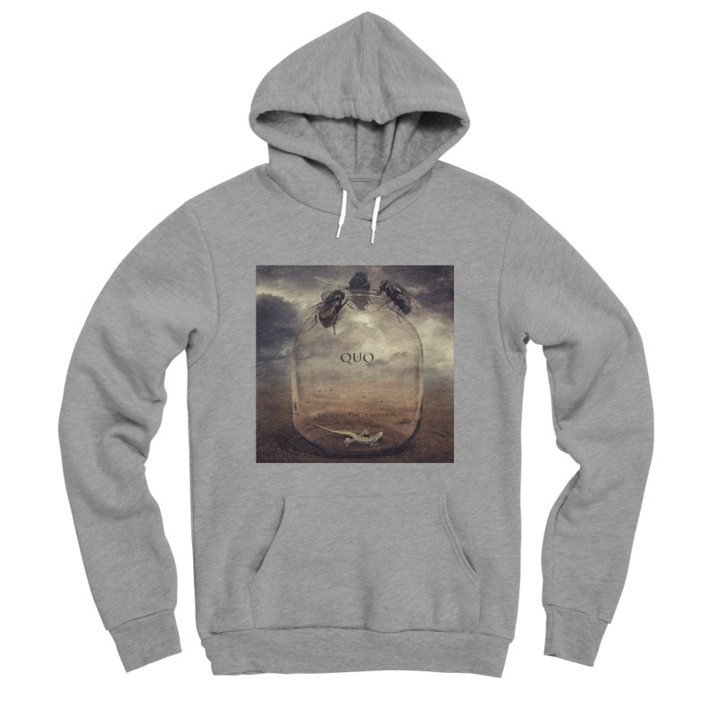 Quo Escaping the Dimension Men's Sponge Fleece Pullover Hoody by automatonofficial's Artist Shop