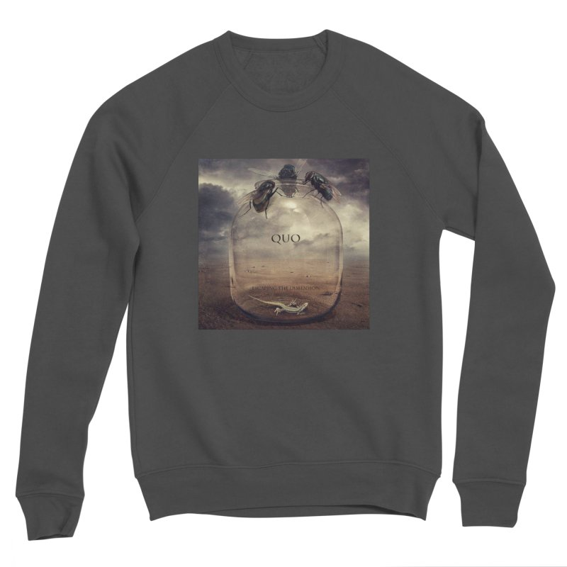 Quo Escaping the Dimension Women's Sponge Fleece Sweatshirt by automatonofficial's Artist Shop