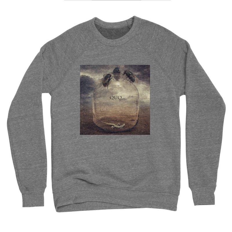 Quo Escaping the Dimension Men's Sponge Fleece Sweatshirt by automatonofficial's Artist Shop