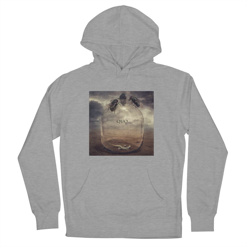 Quo Escaping the Dimension Men's French Terry Pullover Hoody by automatonofficial's Artist Shop
