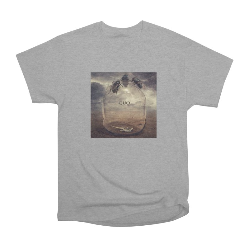 Quo Escaping the Dimension Men's Heavyweight T-Shirt by automatonofficial's Artist Shop