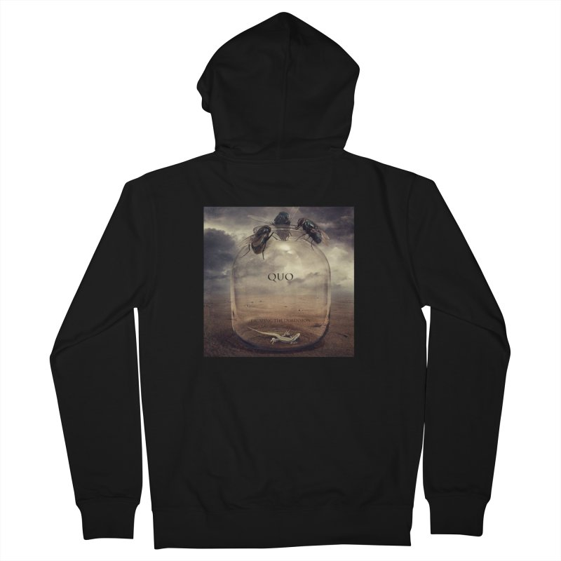 Quo Escaping the Dimension Women's French Terry Zip-Up Hoody by automatonofficial's Artist Shop