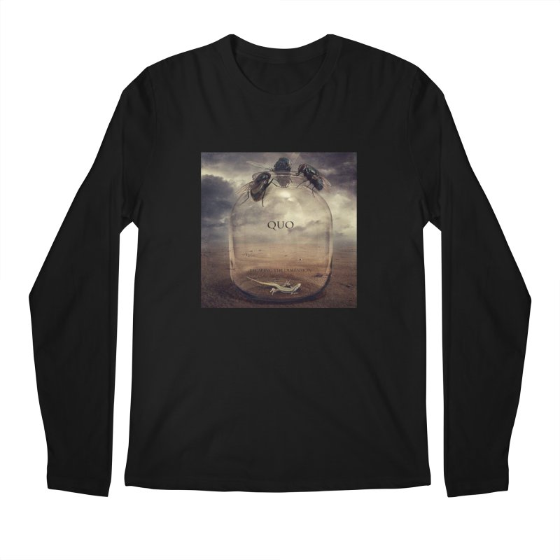 Quo Escaping the Dimension Men's Regular Longsleeve T-Shirt by automatonofficial's Artist Shop