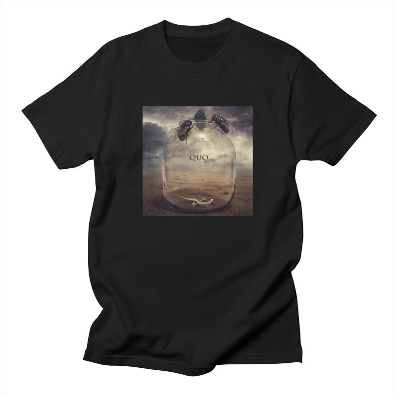 Quo Escaping the Dimension Women's Regular Unisex T-Shirt by automatonofficial's Artist Shop