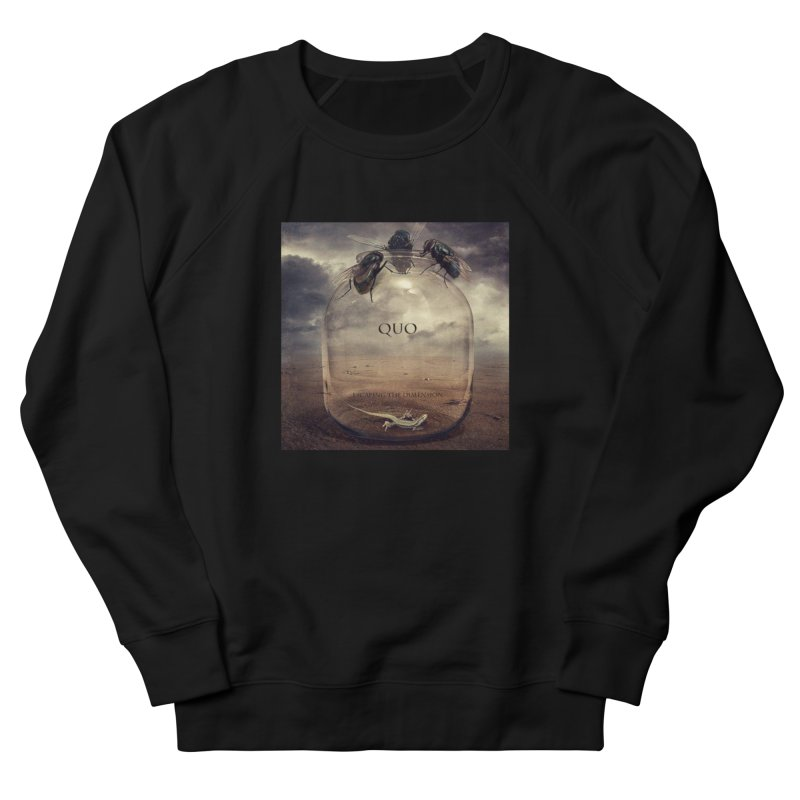 Quo Escaping the Dimension Men's French Terry Sweatshirt by automatonofficial's Artist Shop