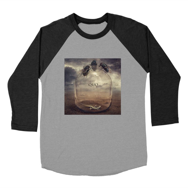 Quo Escaping the Dimension Women's Baseball Triblend Longsleeve T-Shirt by automatonofficial's Artist Shop