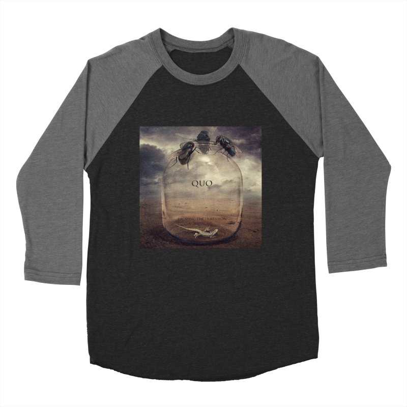 Quo Escaping the Dimension Men's Baseball Triblend Longsleeve T-Shirt by automatonofficial's Artist Shop