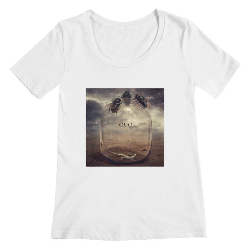 Quo Escaping the Dimension Women's Regular Scoop Neck by automatonofficial's Artist Shop
