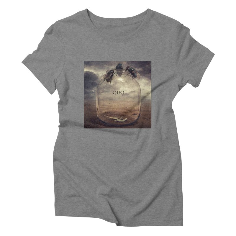 Quo Escaping the Dimension Women's Triblend T-Shirt by automatonofficial's Artist Shop