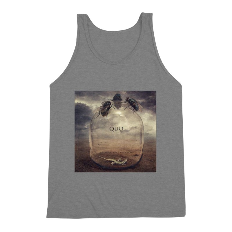 Quo Escaping the Dimension Men's Triblend Tank by automatonofficial's Artist Shop