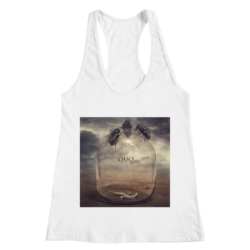 Quo Escaping the Dimension Women's Racerback Tank by automatonofficial's Artist Shop