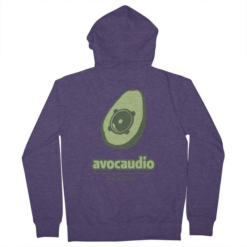 Avocaudio Men's Zip-Up Hoody by Avocaudio