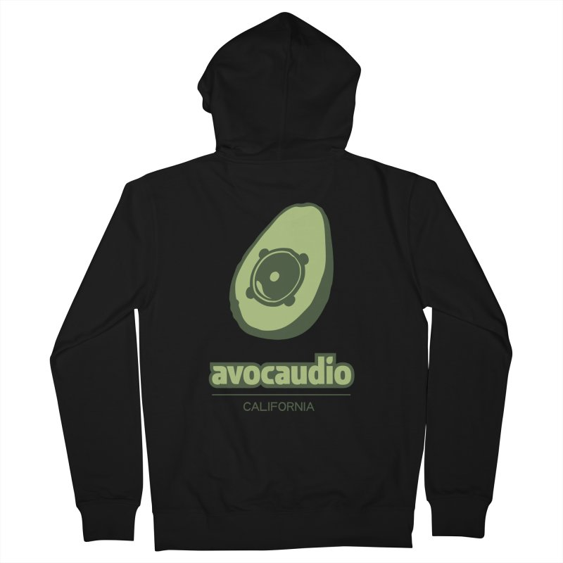 Avocaudio Men's Zip-Up Hoody by Avocaudio