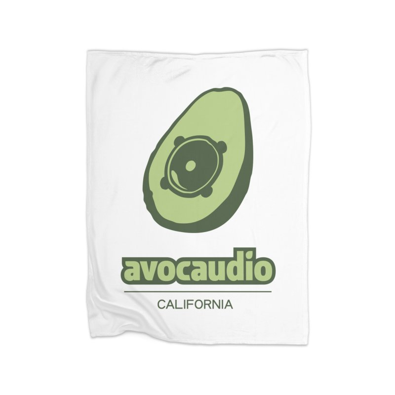 Avocaudio Home Fleece Blanket by Avocaudio