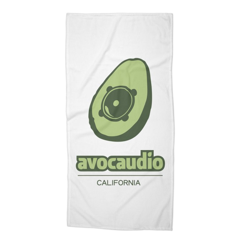 Avocaudio Accessories Beach Towel by Avocaudio