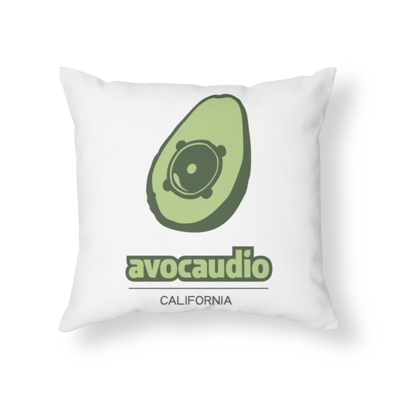 Avocaudio Home Throw Pillow by Avocaudio