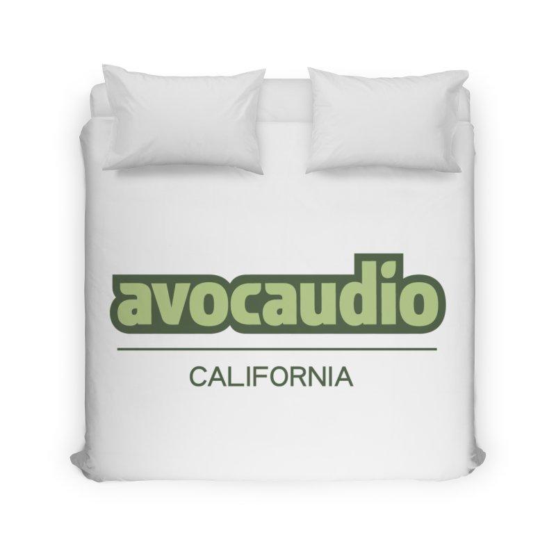 Avocaudio Logo 2 Home Duvet by Avocaudio