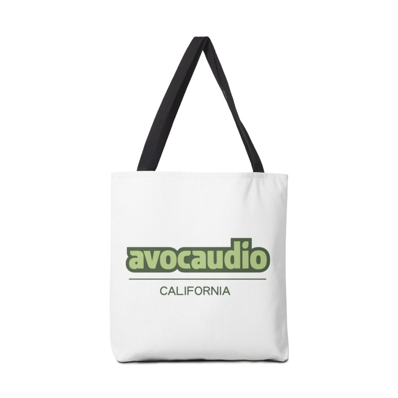 Avocaudio Logo 2 Accessories Bag by Avocaudio