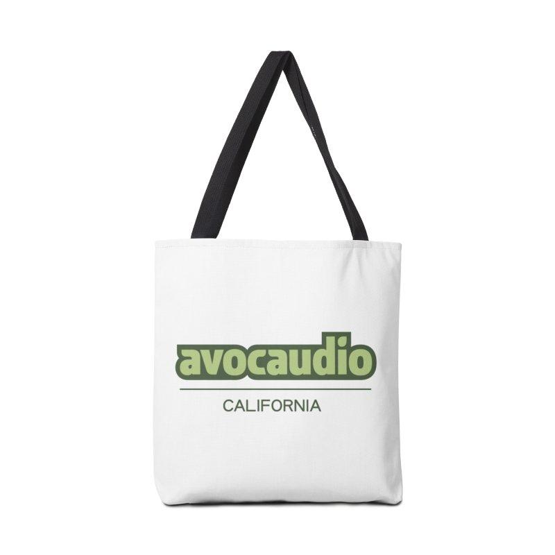 Avocaudio Logo 2 Accessories Bag by Avocaudio