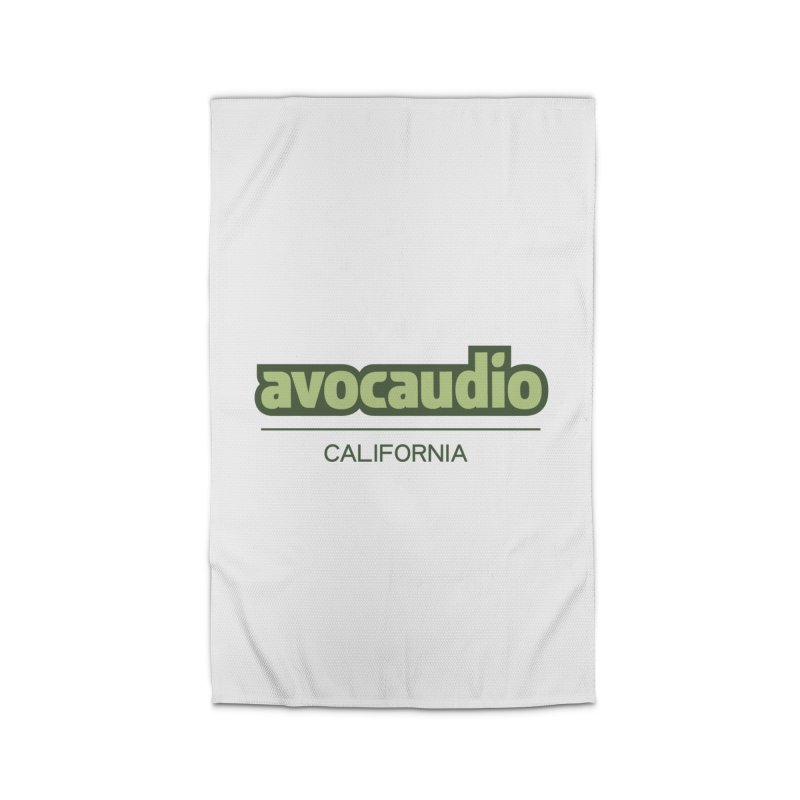 Avocaudio Logo 2 Home Rug by Avocaudio