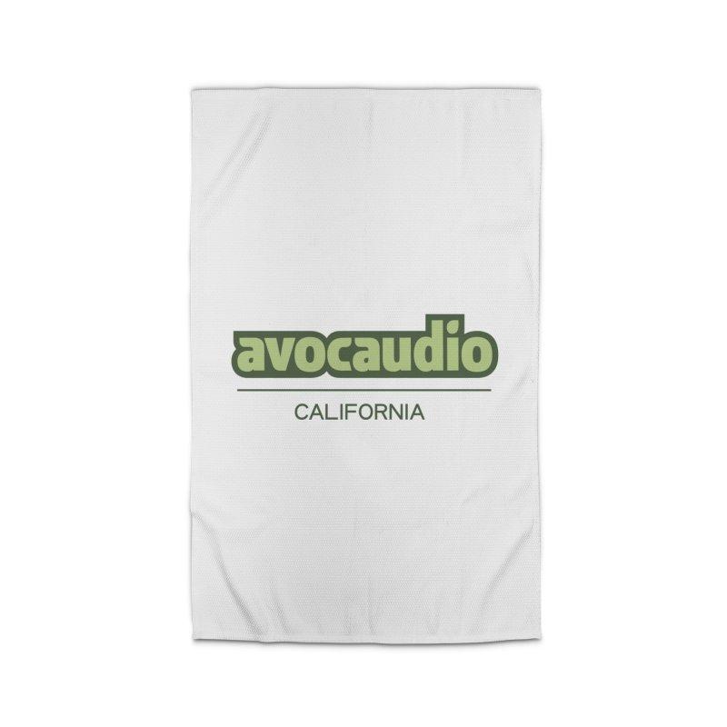 Avocaudio Logo 2 Home Rug by Avocaudio