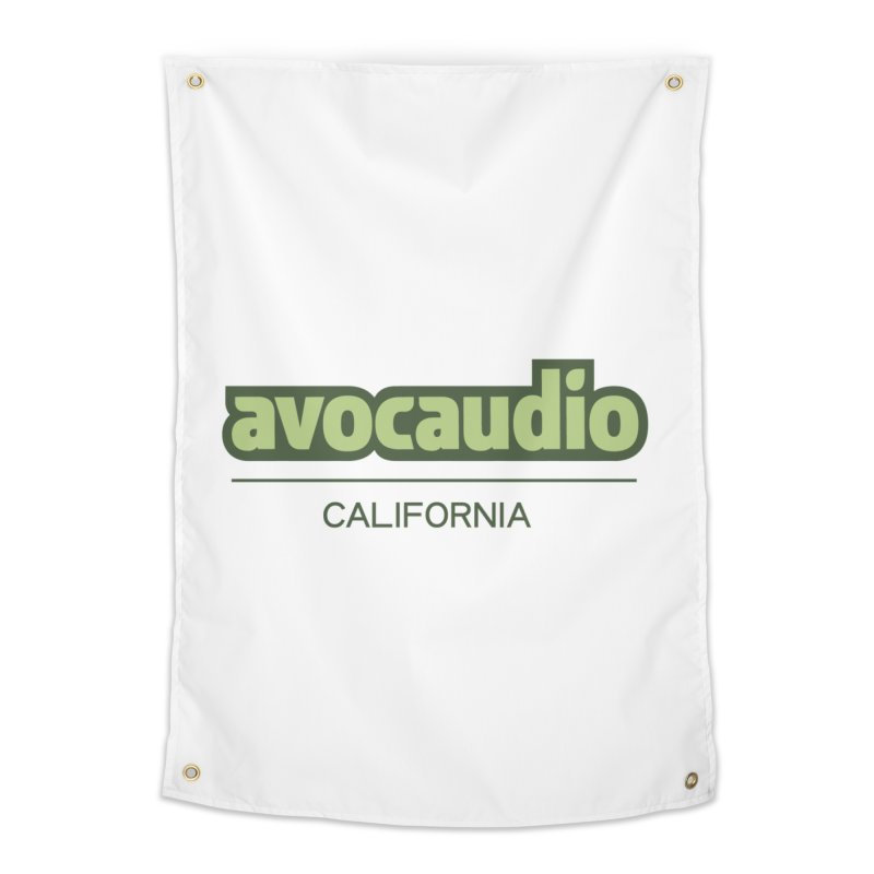 Avocaudio Logo 2 Home Tapestry by Avocaudio
