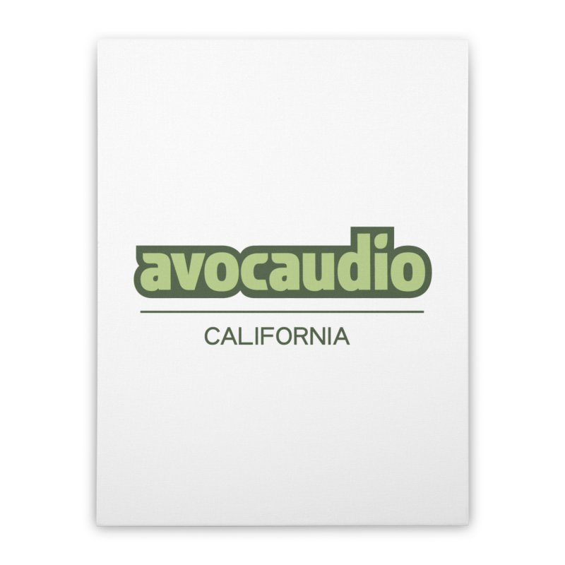 Avocaudio Logo 2 Home Stretched Canvas by Avocaudio