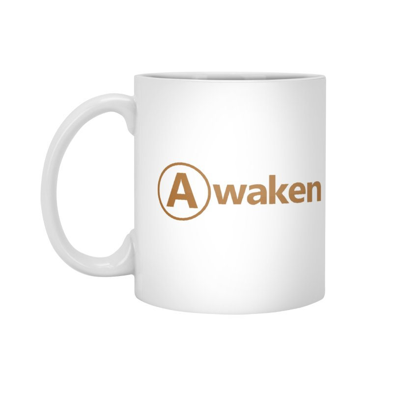 Awaken Orange Accessories Mug by Awakencon's Artist Shop