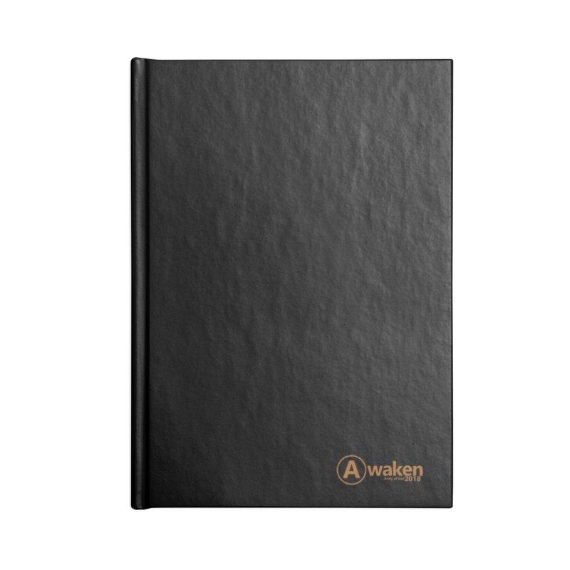 Awaken 2018 in Lined Journal Notebook by Awakencon's Artist Shop