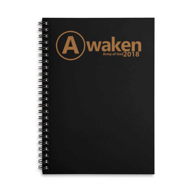 Awaken 2018 Accessories Lined Spiral Notebook by Awakencon's Artist Shop