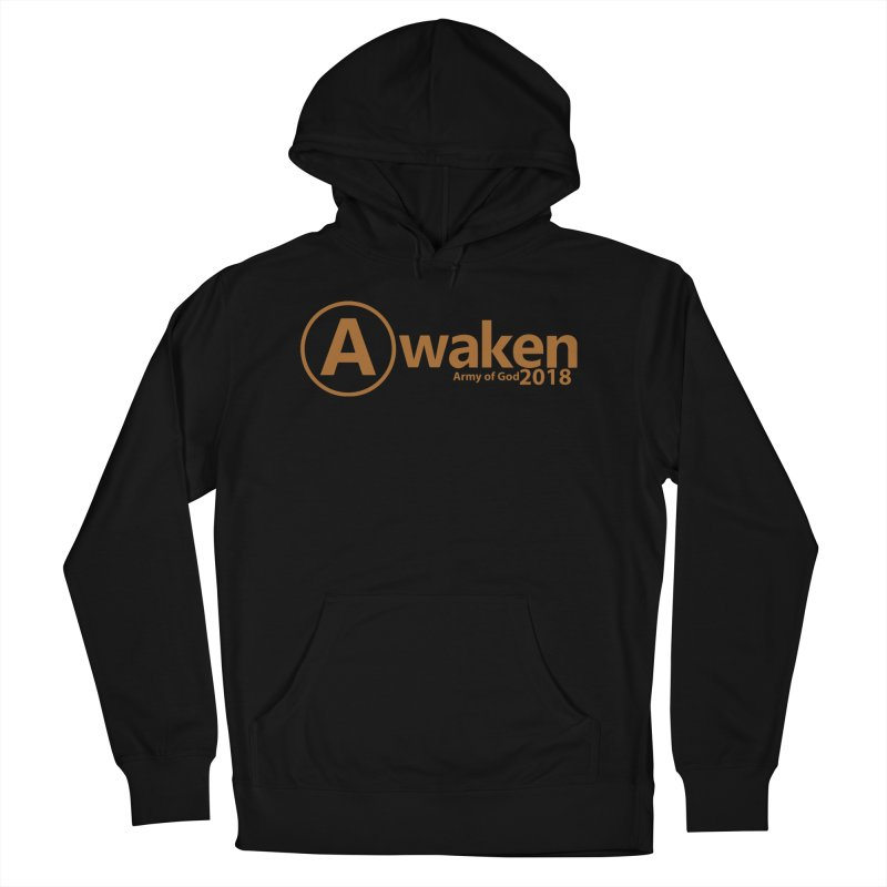 Awaken 2018 in Men's Pullover Hoody Black by Awakencon's Artist Shop