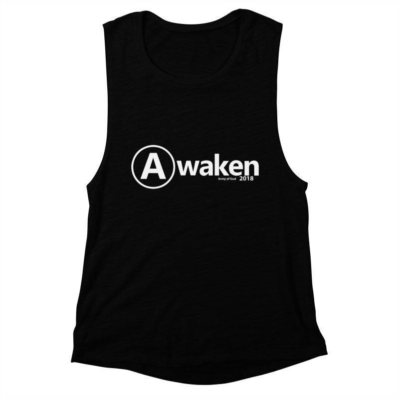 Default Awaken Women's Muscle Tank by Awakencon's Artist Shop