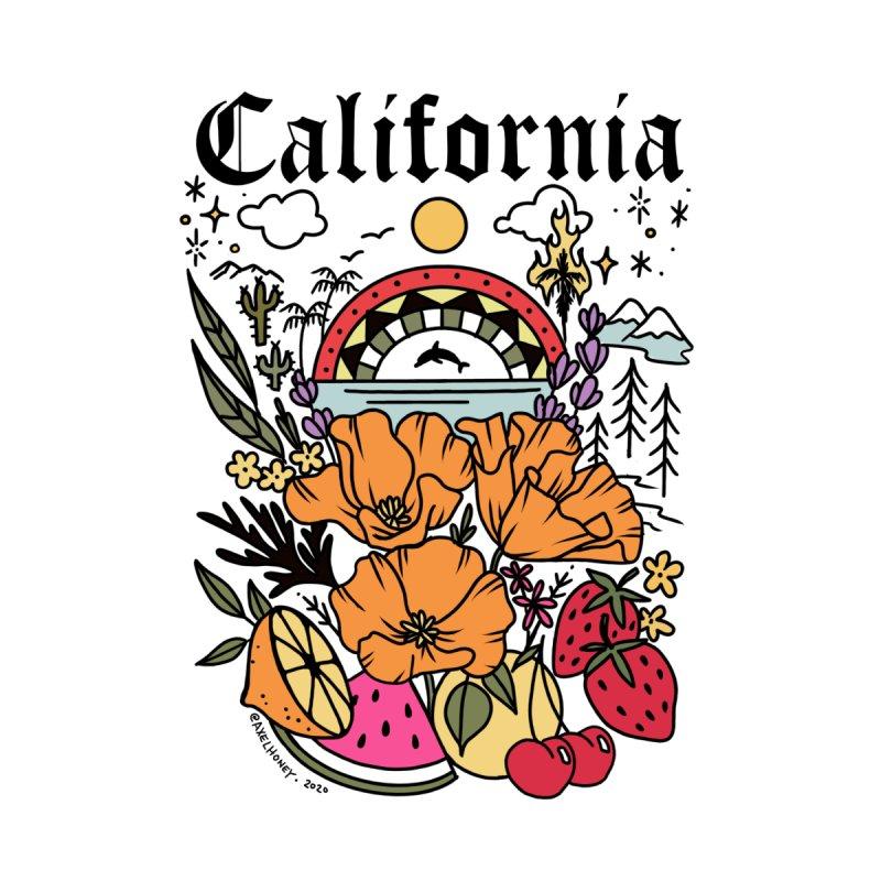 California Men's T-Shirt by Axelhoney's Artist Shop