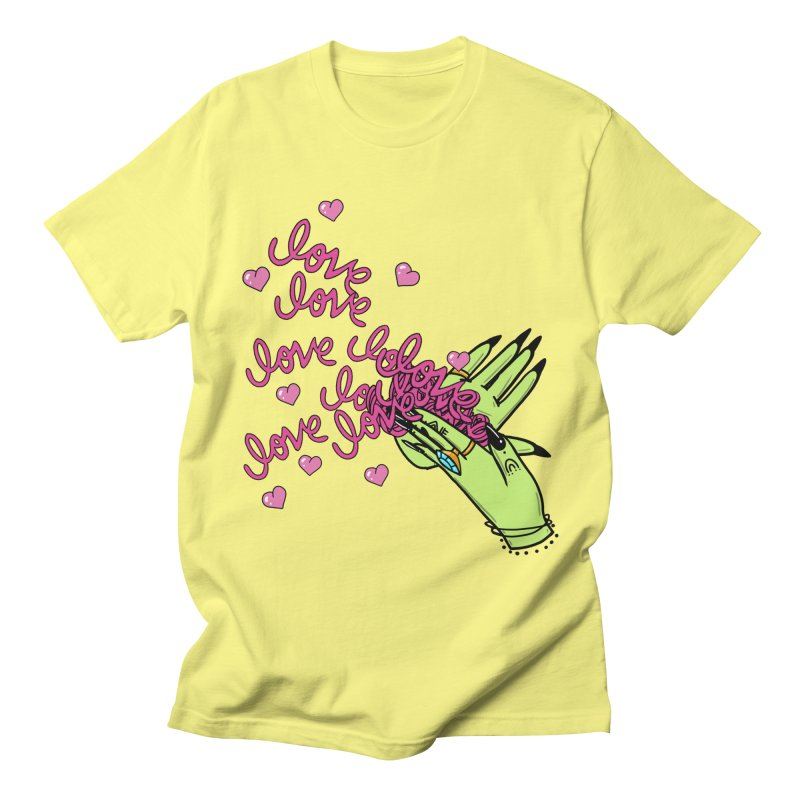 Make It Rain Men's T-Shirt by Axelhoney's Artist Shop
