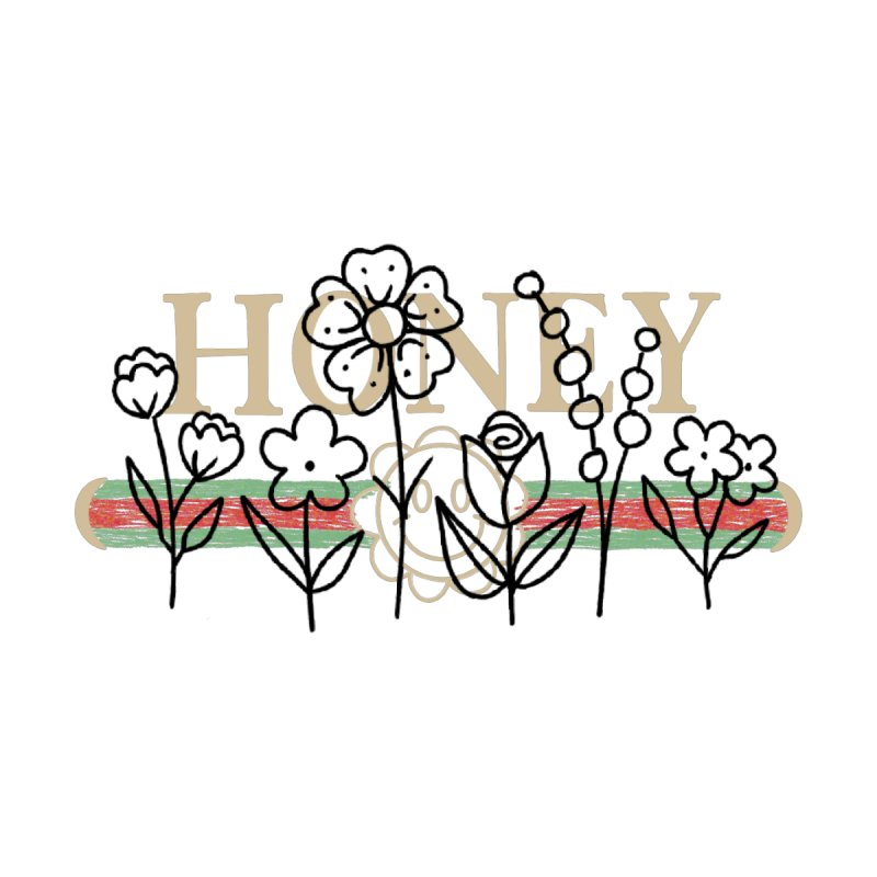 Honey flowers Men's T-Shirt by Axelhoney's Artist Shop